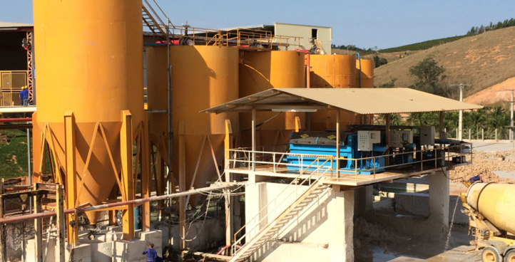 Water treatment plants and marble mechanics