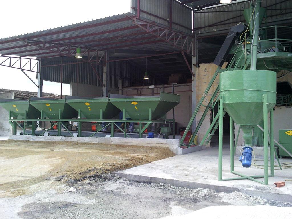 Algeri (Algeria) – Impianto di betonaggio