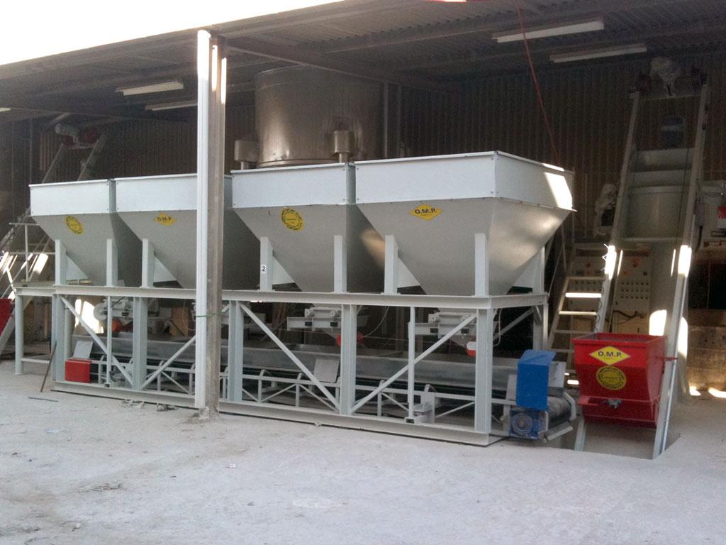 Diwanyia (Iraq) – Impianto di betonaggio